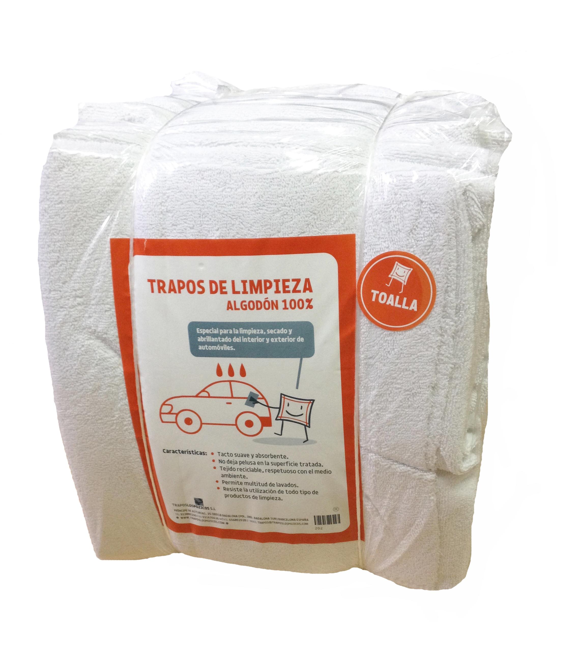 Pack 6 bolsas toalla por Trapos Los Pozicos