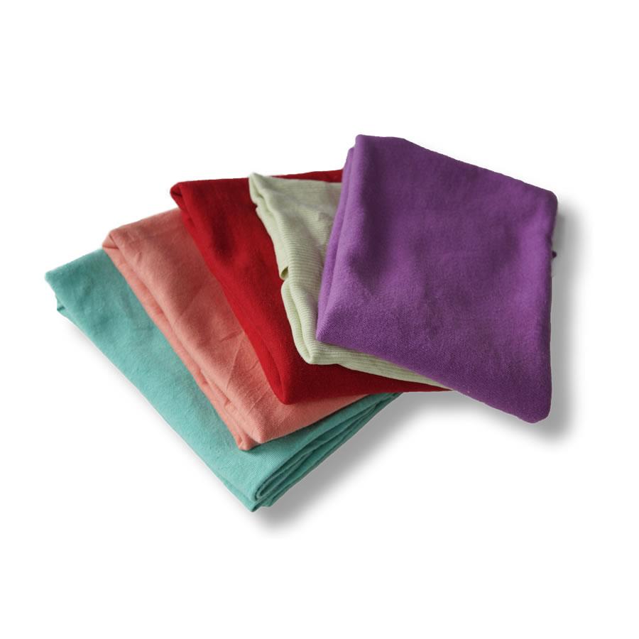 Trapos de punto color chandal de algodón reciclados y fabricados por Trapos Los Pozicos