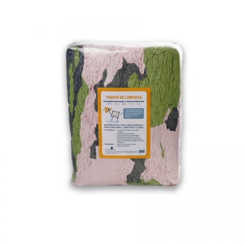 Trapos de punto color nuevo de algodón 100% fabricados por Trapos Los Pozicos