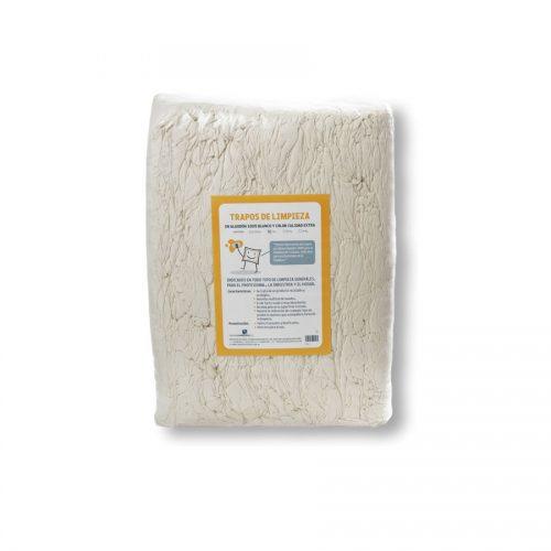 Trapos de punto crudo de algodón 100% fabricados por Trapos Los Pozicos