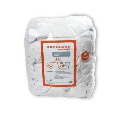 Trapos de algodón en toalla para todo tipo de limpiezas.