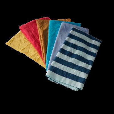 Trapos de limpieza de punto color nuevo de algodón 100% fabricados por Trapos Los Pozicos